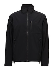 Water-Repellent Jacket - POLO BLACK