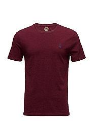 Custom Slim Fit Cotton T-Shirt - CLASSIC WINE
