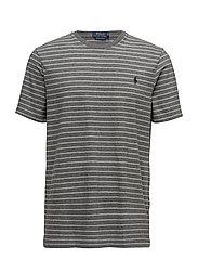 Custom Slim Fit Cotton T-Shirt - BOULDER GREY HEAT