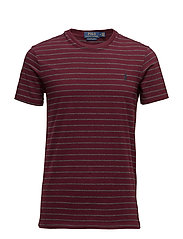 Custom Slim Fit Cotton T-Shirt - FALL BURGUNDY/WIN