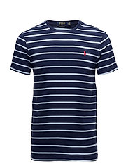 Custom Slim Fit Cotton T-Shirt - NEWPORT NAVY/ELIT