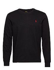 Custom Slim Fit Cotton T-Shirt - POLO BLACK