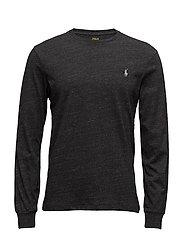 Custom Slim Fit Cotton T-Shirt - BLACK MARL HEATHE