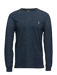 Custom Slim Fit Cotton T-Shirt - BLUE ECLIPSE HEAT
