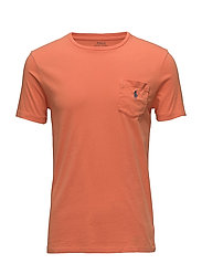Custom Slim Fit Cotton T-Shirt - CONGO ORANGE
