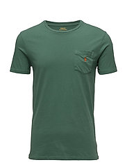 Custom Slim Fit Cotton T-Shirt - ANTIQUE GREEN