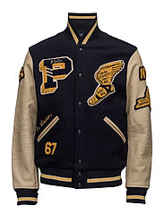 WOOL TWILL-VINTAGE VARSITY - COLLECTION NAVY/A