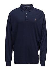 Custom Slim Fit Cotton Polo - FRENCH NAVY
