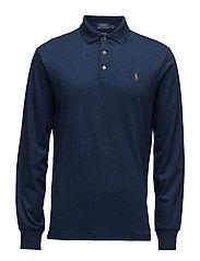 Custom Slim Fit Cotton Polo - MONROE BLUE HEATH