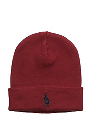 COTTON-FOLD OVER HAT PP - RED