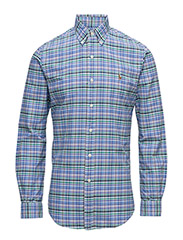 THE ICONIC OXFORD SHIRT - 1968A MULTI BLUE/LAVENDER