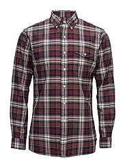 The Iconic Plaid Oxford Shirt - 1960 RED/SMOKE MU