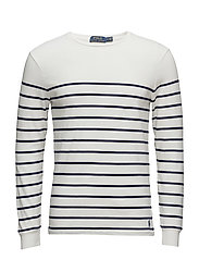Striped Cotton Sweater - NEVIS/FRENCH NAVY