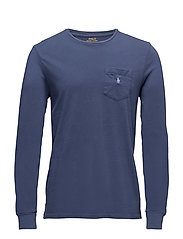 Classic Fit Cotton T-Shirt - LIGHT NAVY