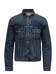 Denim Trucker Jacket - TRENTON