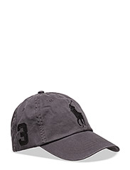 Cotton Chino Baseball Cap - INFINITE GREY/BLACK