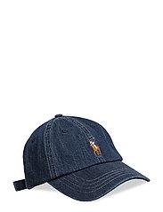 CLASSIC SPORT CAP W/ SMALL PP - DARK WASH