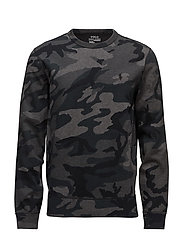 Camo Cotton-Blend Sweatshirt - GREY MULTI CAMO