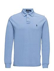 Custom Slim Fit Weathered Mesh Polo - NEW HARBOR BLUE