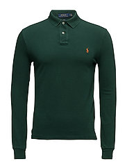 Slim Fit Weathered Mesh Polo - NORTHWEST PINE