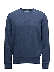 Double Knit Sweatshirt - DERBY BLUE HEATHER