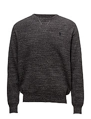 Cotton Sweatshirt - COAL HEATHER