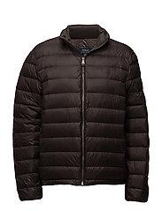 Packable Down Jacket - EQUINE BROWN
