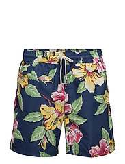 Traveller Swim Trunk - VINTAGE HIBISCUS