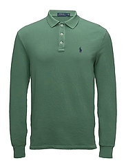 Custom Slim Fit Spa Terry Polo - ANTIQUE GREEN