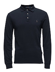 Custom Slim Fit Spa Terry Polo - AVIATOR NAVY