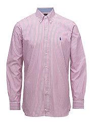 Classic Fit Cotton Poplin Shirt - 2185B ROSE PINK/W