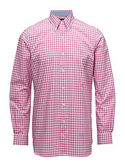 Classic Fit Cotton Poplin Shirt - 2186A ROSE PINK/W