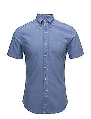 Slim Fit Oxford Shirt - CITY BLUE