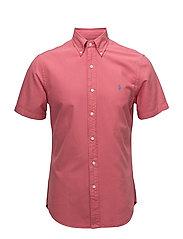 Slim Fit Oxford Shirt - HYANNIS RED