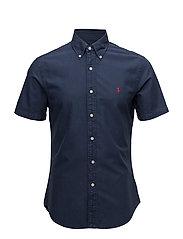 Slim Fit Oxford Shirt - NEWPORT NAVY