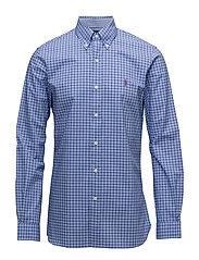 Slim Fit Cotton Poplin Shirt - 2162B CORNFLOWER/