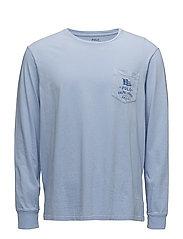 Custom Slim Fit Cotton T-Shirt - AUSTIN BLUE