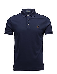 Slim Fit Soft-Touch Polo Shirt - FRENCH NAVY