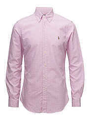 Slim Fit Oxford Shirt - 2206B POWDER PINK