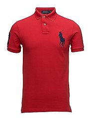 Slim-Fit Mesh Polo Shirt - RL 2000 RED