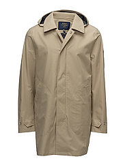 Waterproof Twill Coat - CLASSIC KHAKI