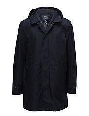 Waterproof Twill Coat - COLLEGE NAVY
