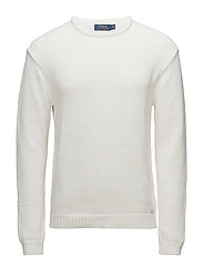 Cotton Rollneck Sweater - WHITE