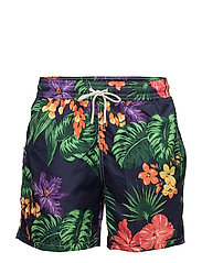 5¾-Inch Traveler Swim Trunk - JUNGLE TROPICAL