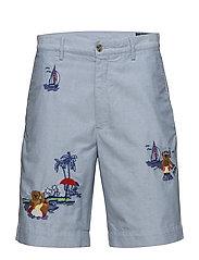 Classic Fit Cotton Short - BSR BLUE W/ AO EM