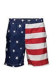 6-Inch Polo Prepster Trunk - AMERICANA FLAG