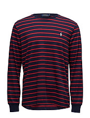 Custom Slim Fit Cotton T-Shirt - FRENCH NAVY/RALPH