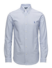 Classic Fit Knit Oxford Shirt - DRESS SHIRT BLUE/