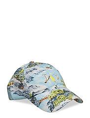 Tropical Chino Baseball Cap - LANDSCAPE HAWAIIA