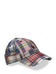 Patchwork Madras Baseball Cap - PATCHWORK